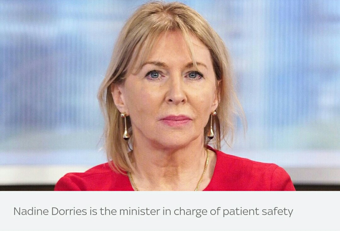 Coronavirus: Infected British Health Minister, Nadine Dorries said her m, 84, has tested positive for COVID-19