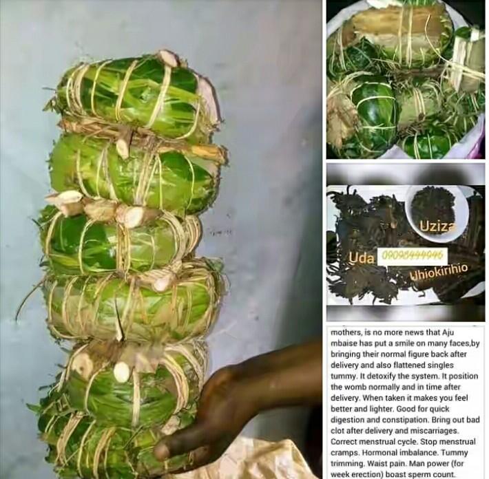 How to prepare Aju Mbaise Tea + Aju Mbaise Ingredients