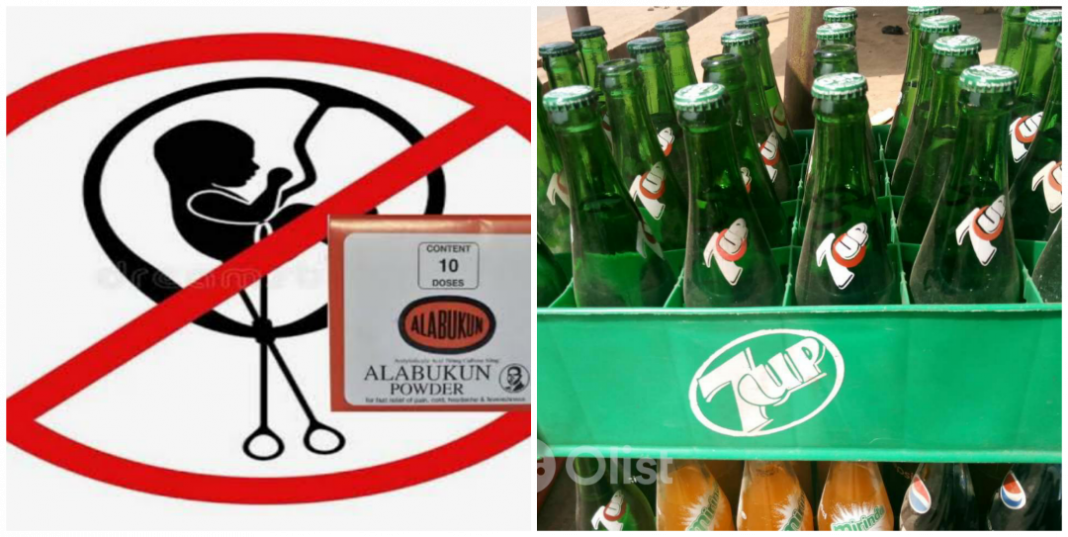 How to Use alabukun, 7up, dry gin and lime for abortion