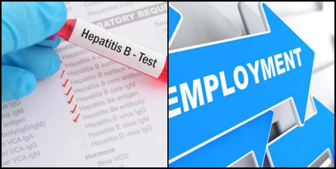 Hepatitis B and employment in Nigeria