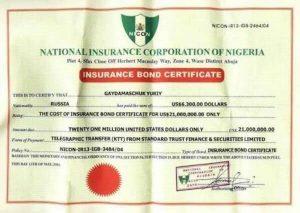 List of car documents in Nigeria
