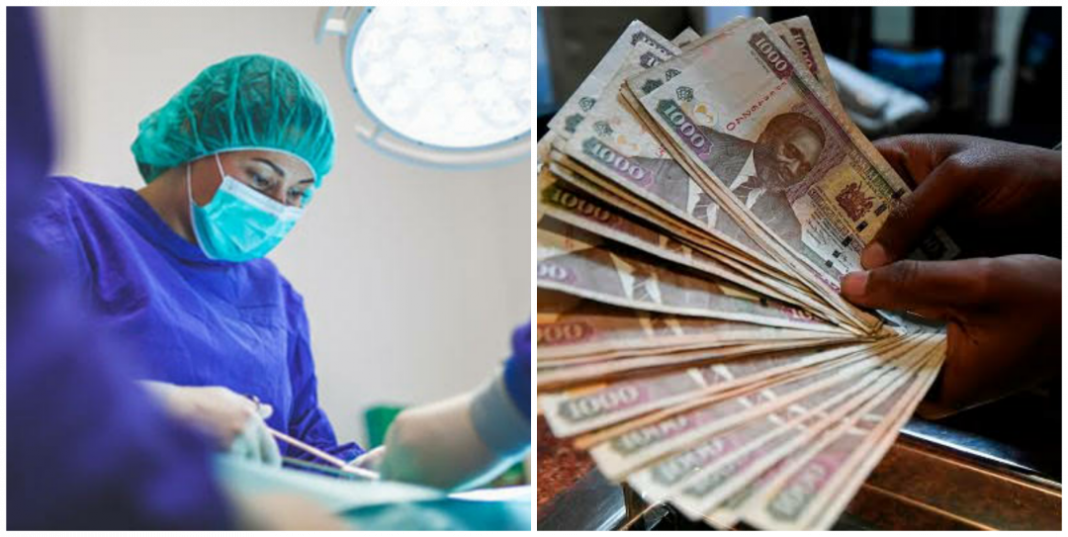 How much does hernia surgery cost in Kenya?