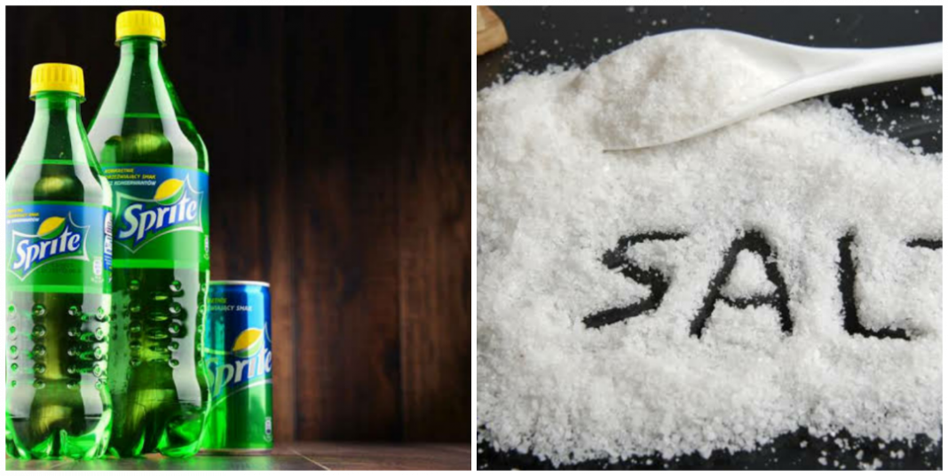 How to use Sprite and salt for upset stomach and Diarrhea