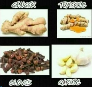 Side effects of ginger, garlic turmeric and cloves combo drink.