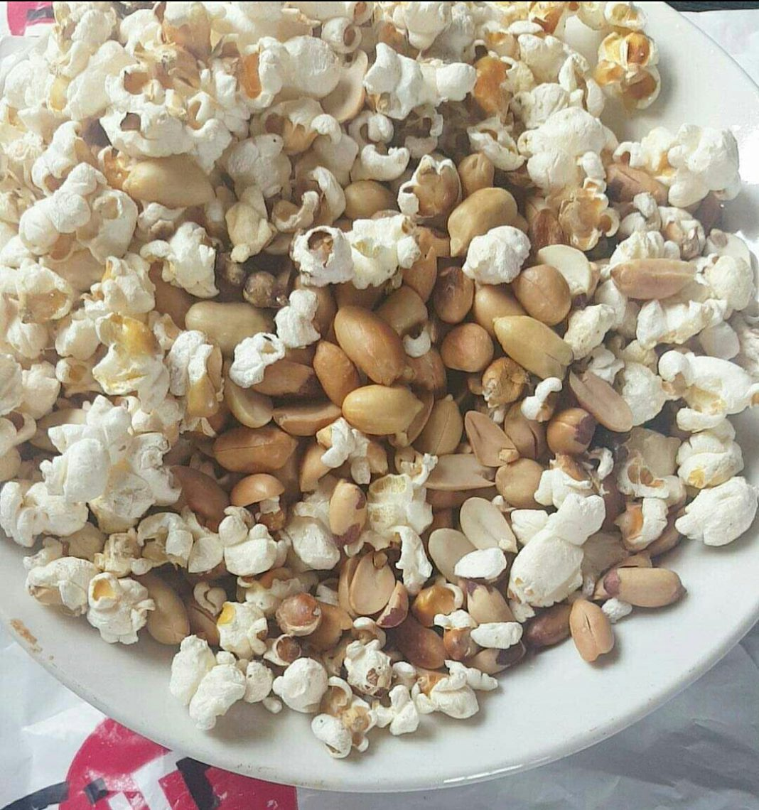 Benefits of roasted corn and groundnut