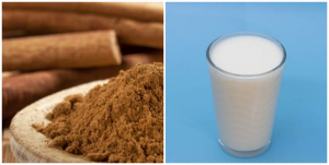 What does cinnamon and milk do to a man sexually?